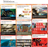 Best Books of 2016, All in OnePlace